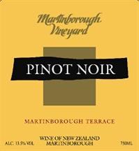 Martinborough Vineyard Pinot Noir